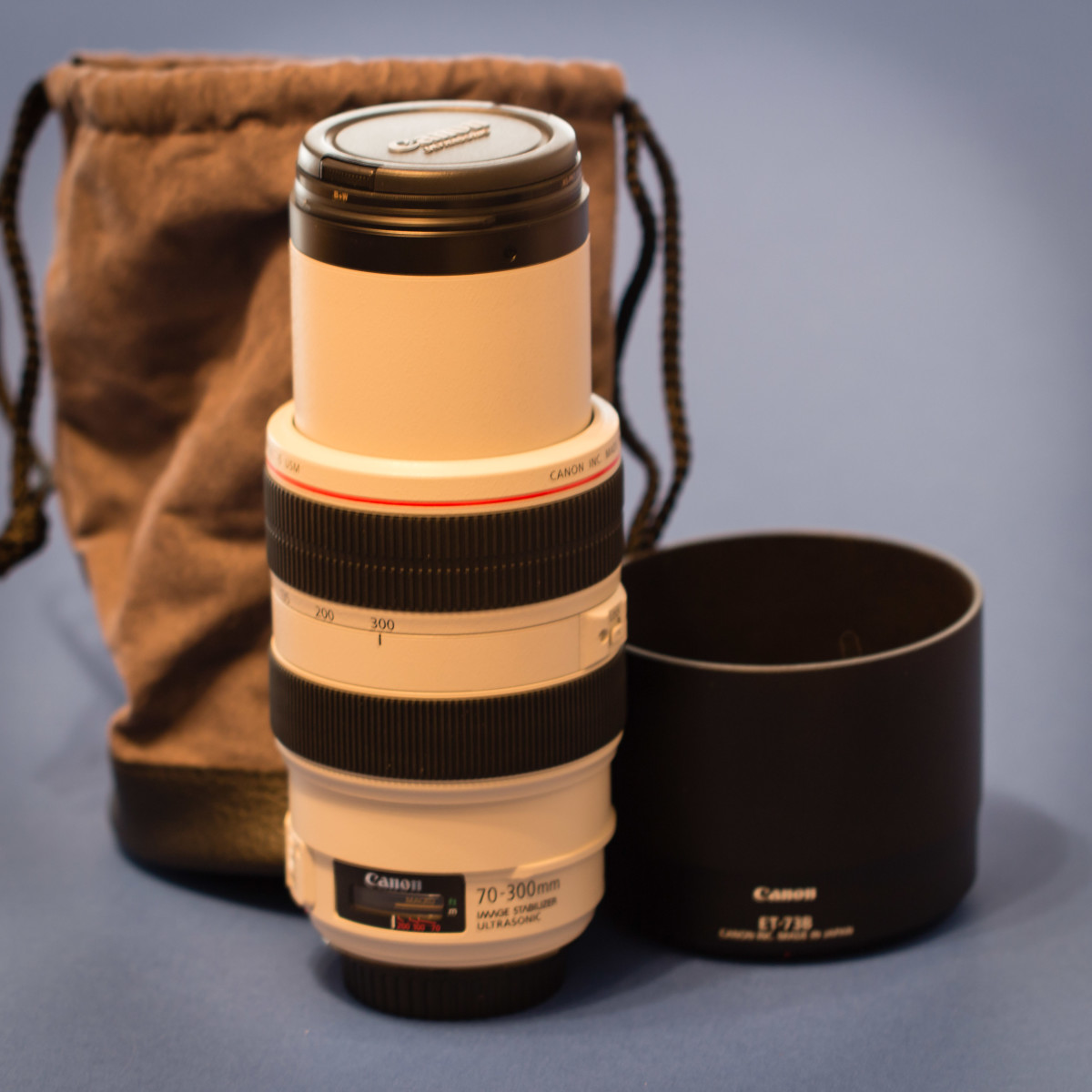 The soft lens case that comes with many lenses is definitely not good for safe transport.