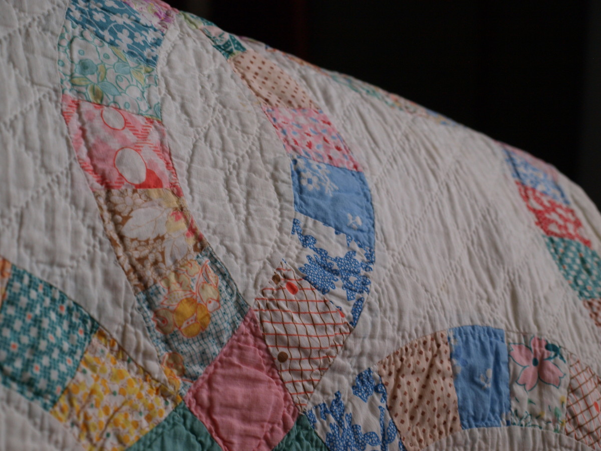 Antique quilts need special care.