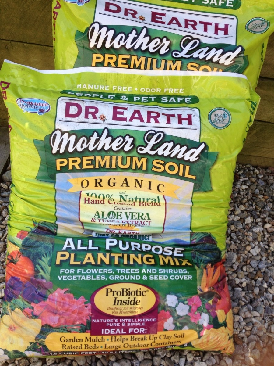 This is soil sold at our local feed store.