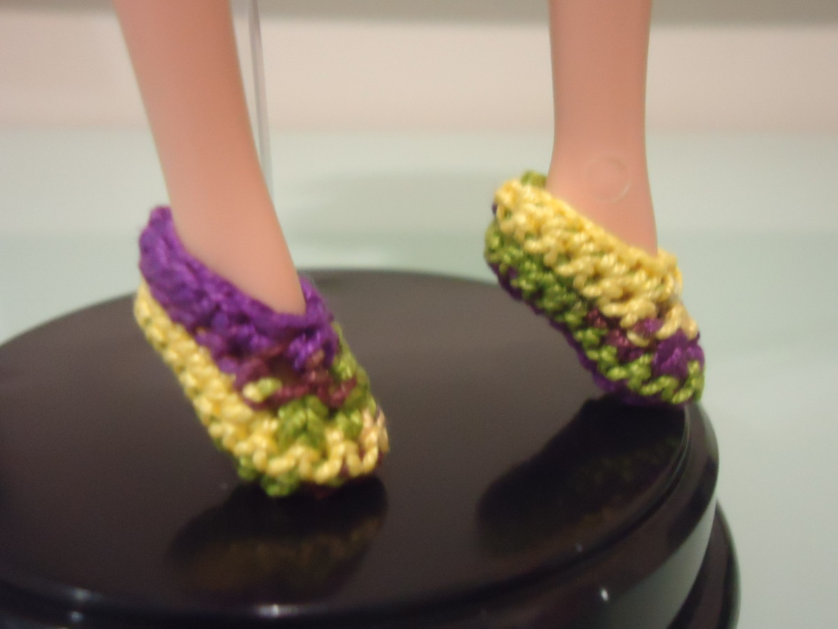 barbie-ballet-flats-free-crochet-pattern