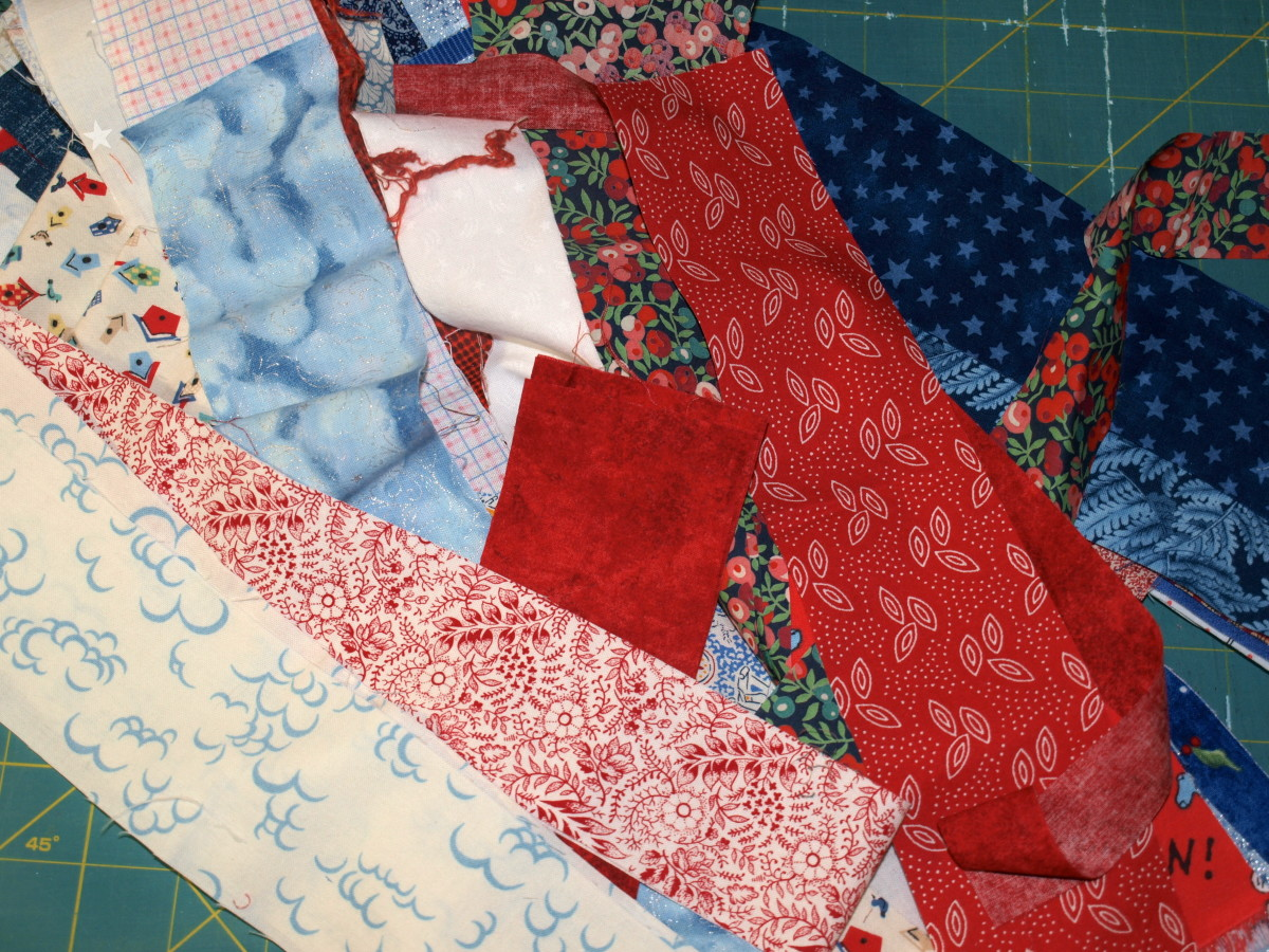 Assorted Fabric Strips