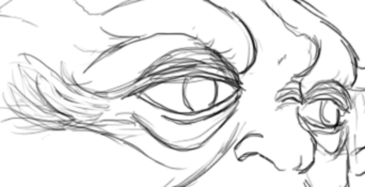 Eye creases