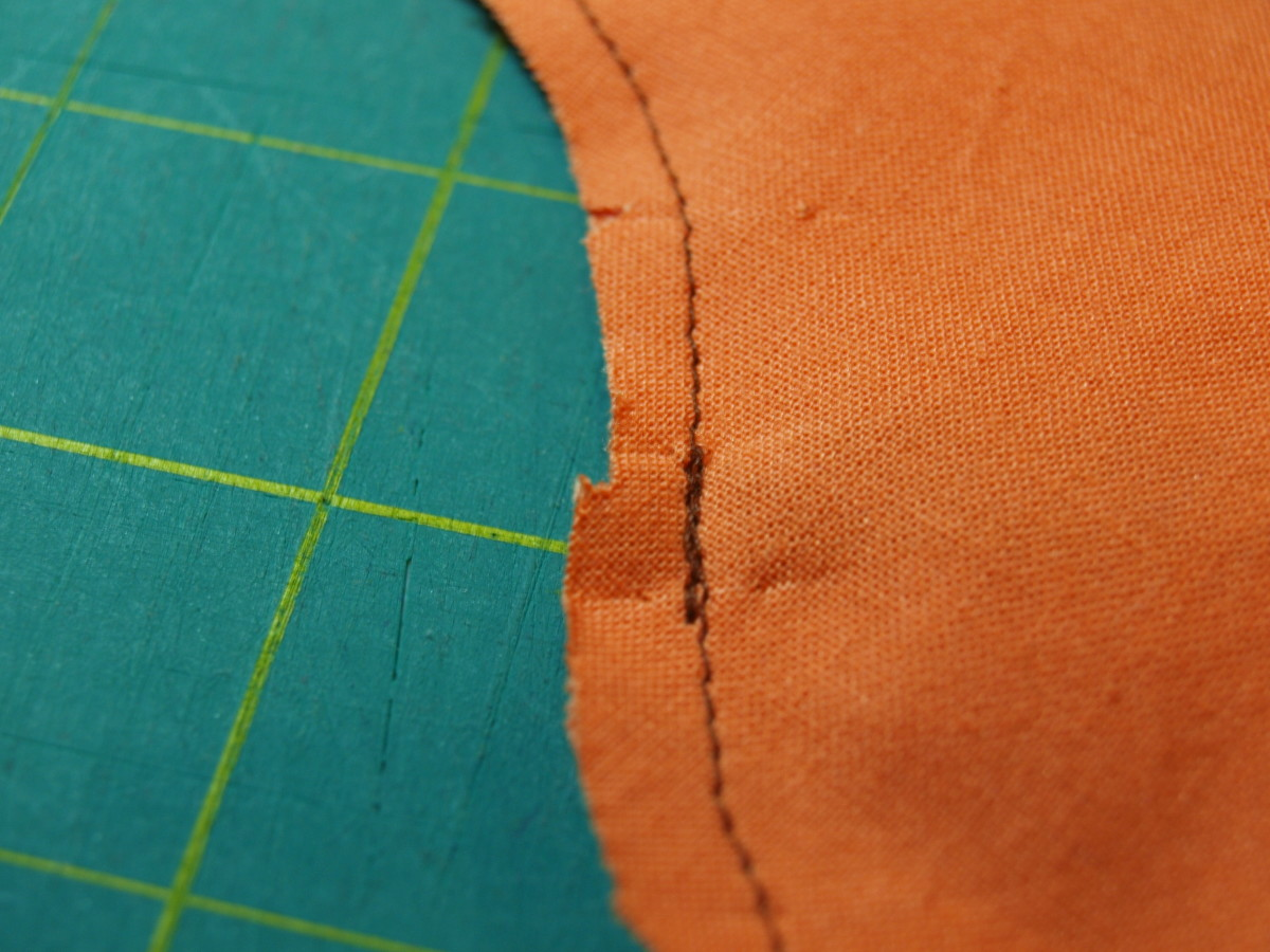 4. Wherever something like a leg or arm will be sticking out, backstitch to give it more security.