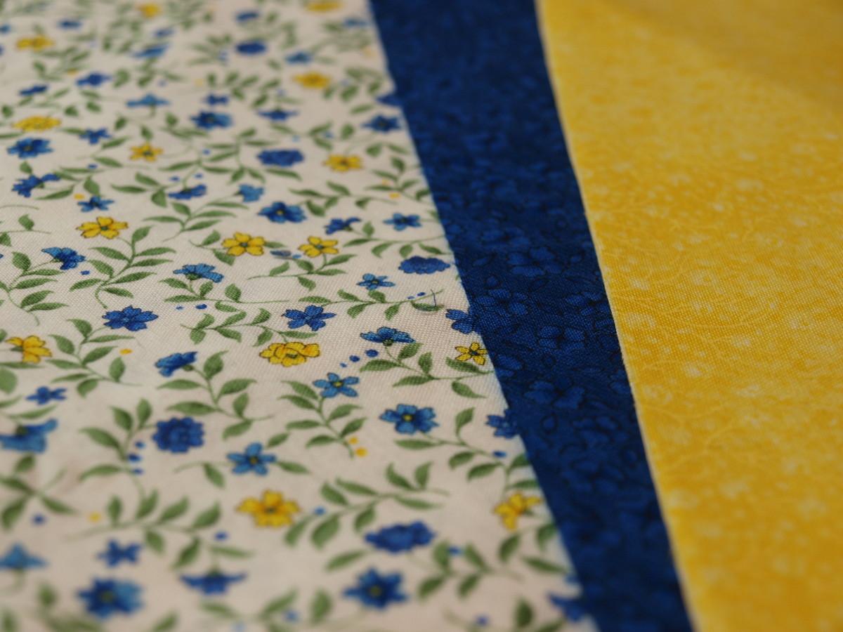 Choose and prepare fabric