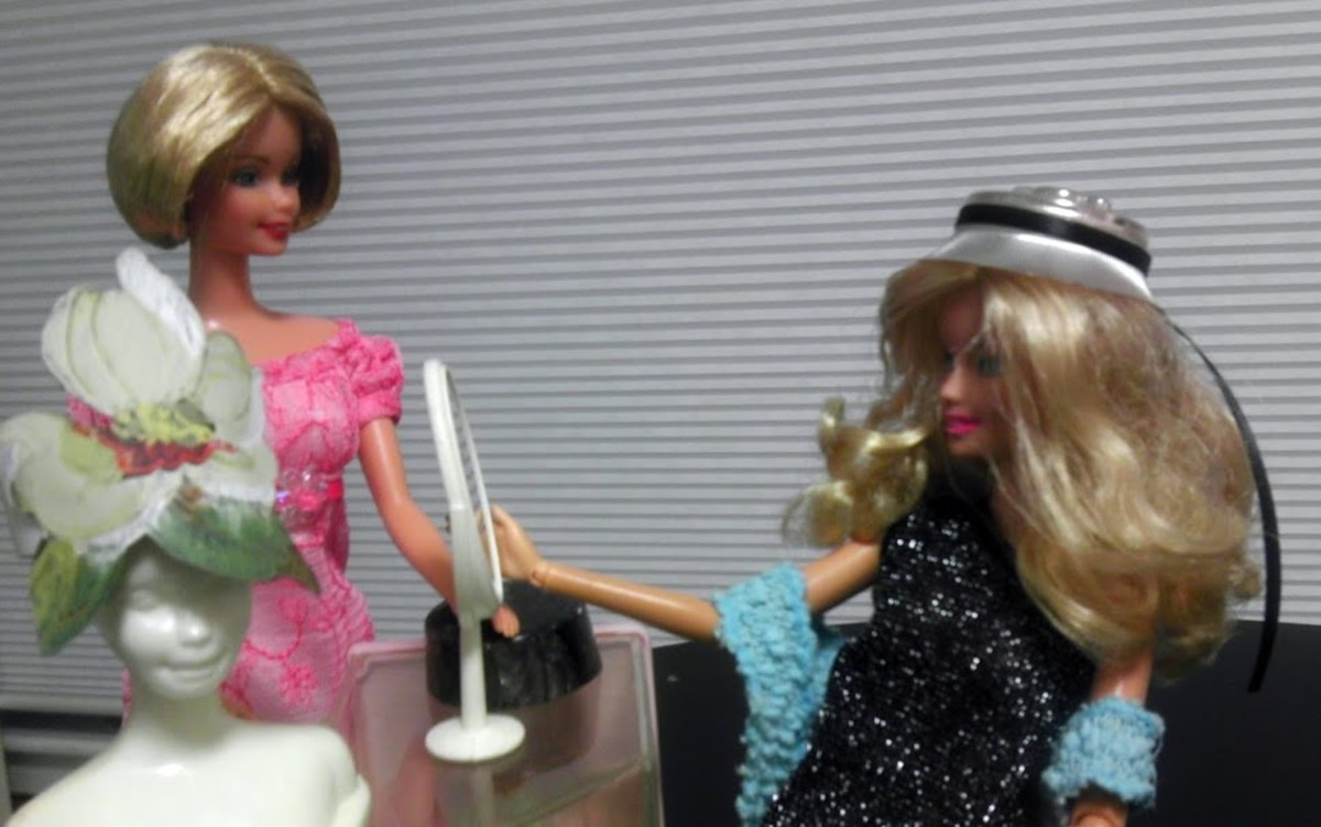 Barbie loves a good chapeau, so why not make her a full wardrobe of them?