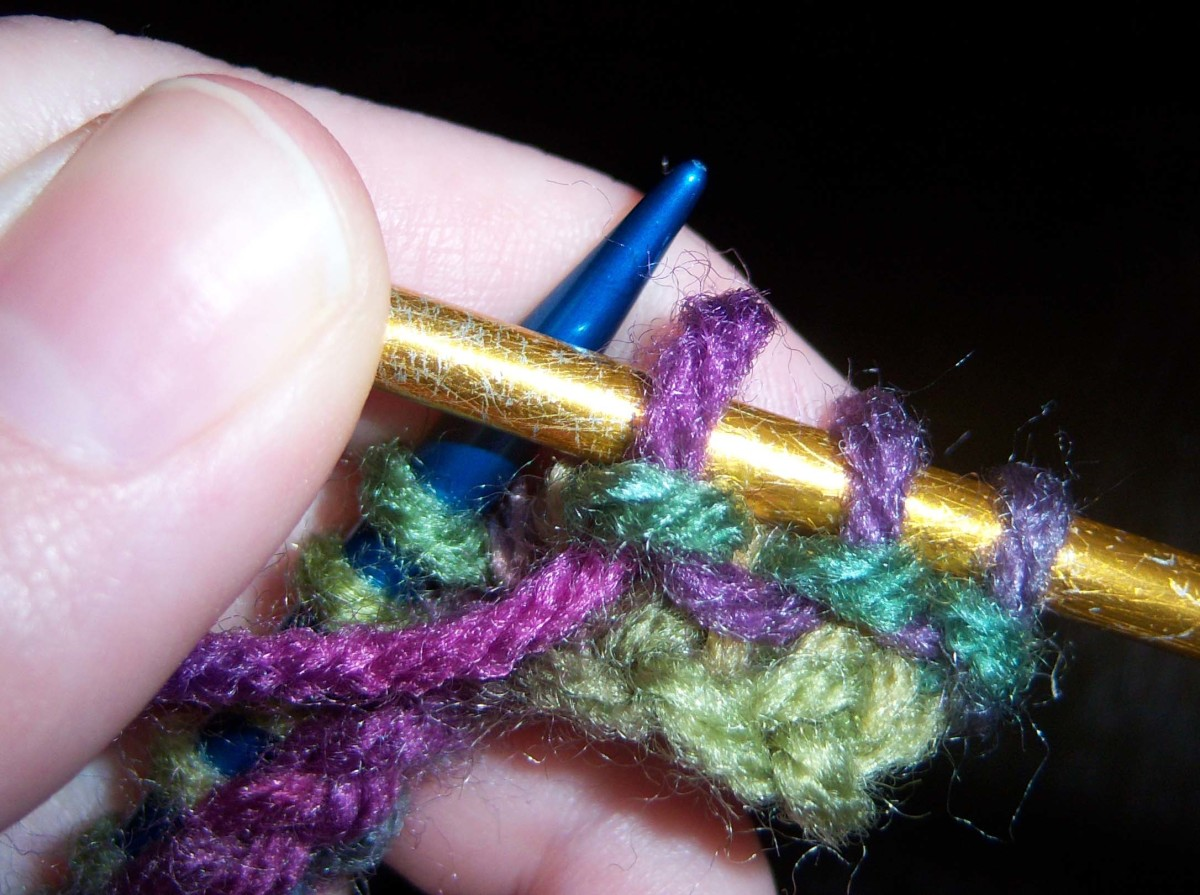 Your new purl stitch!