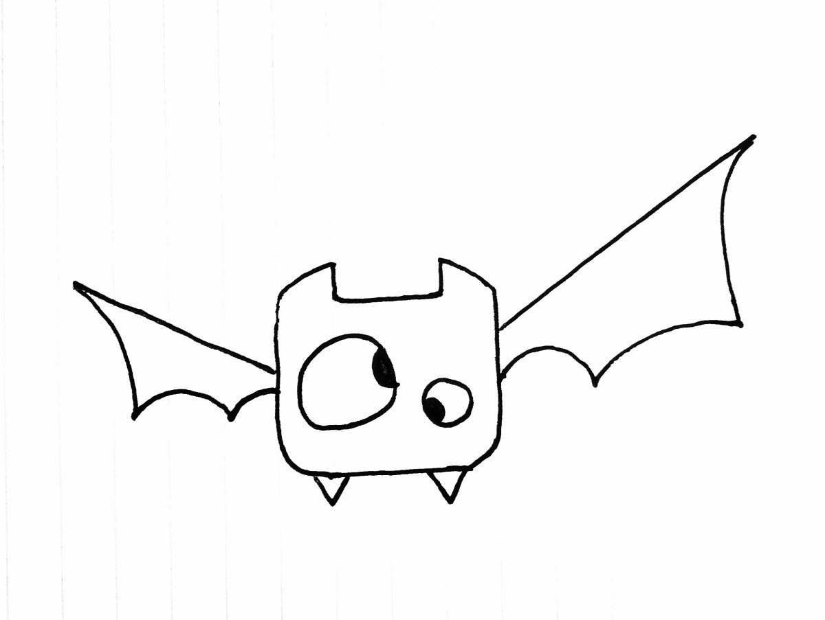 Step 6: Draw the Wings