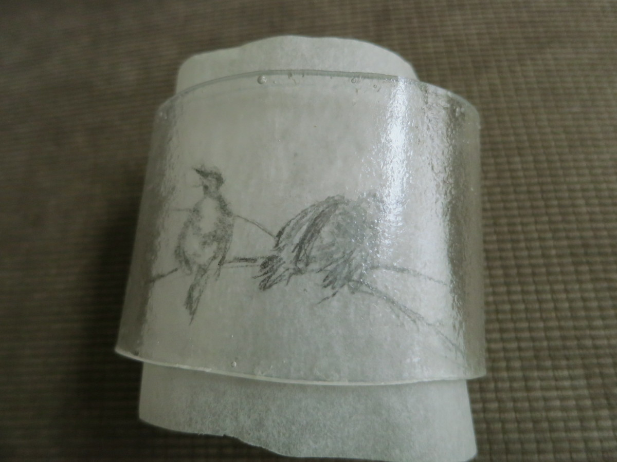 etching a design on handmade bracelet  (c) purl3agony 2013
