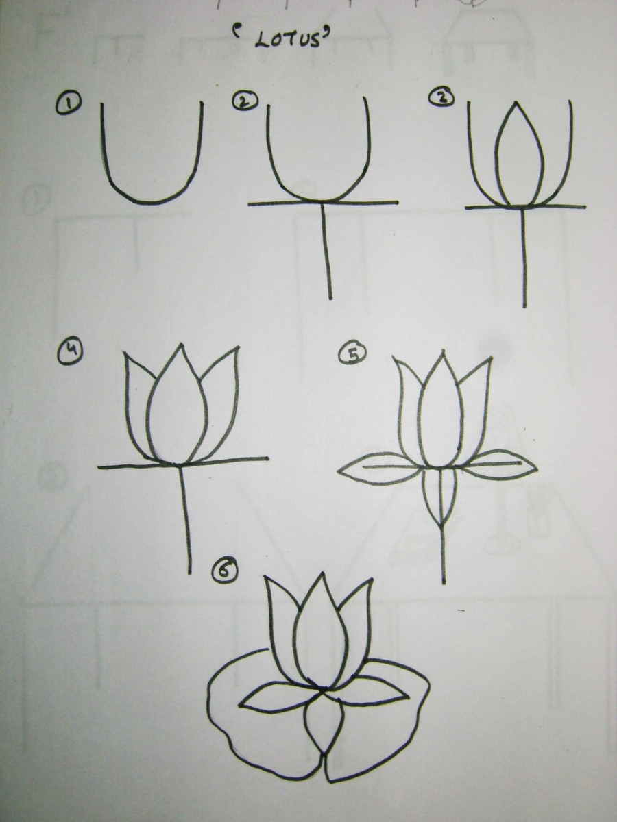 How to teach kids to draw using the alphabet feltmagnet Teach me how to draw a flower