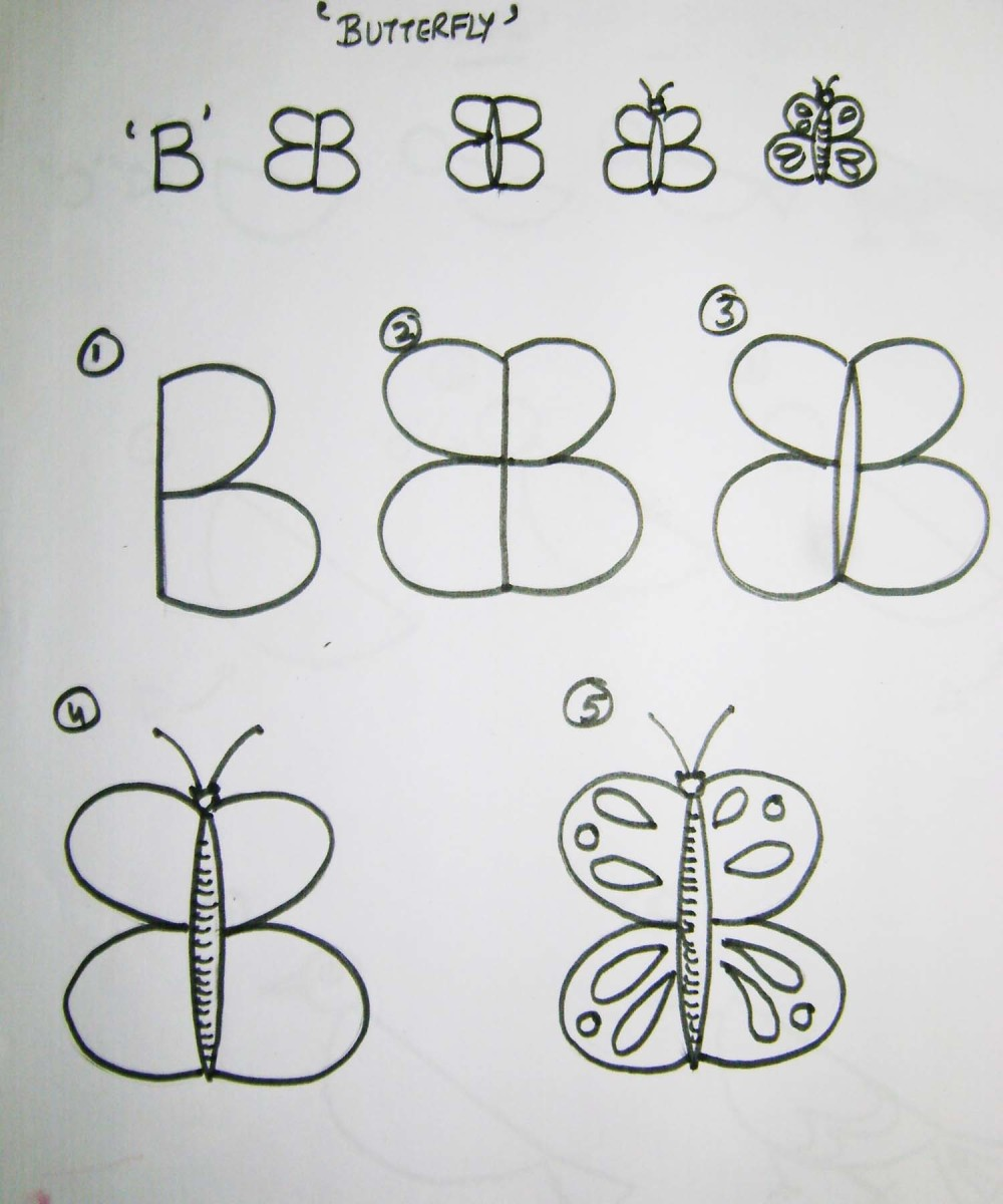 A Butterfly With B