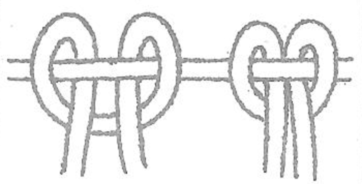 Figure 4 - Reverse Double Half Hitch