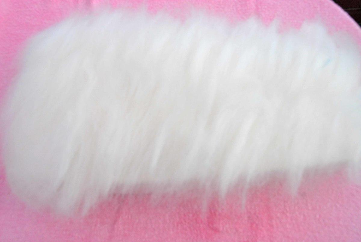 Adding the 3 layers of wool fibers