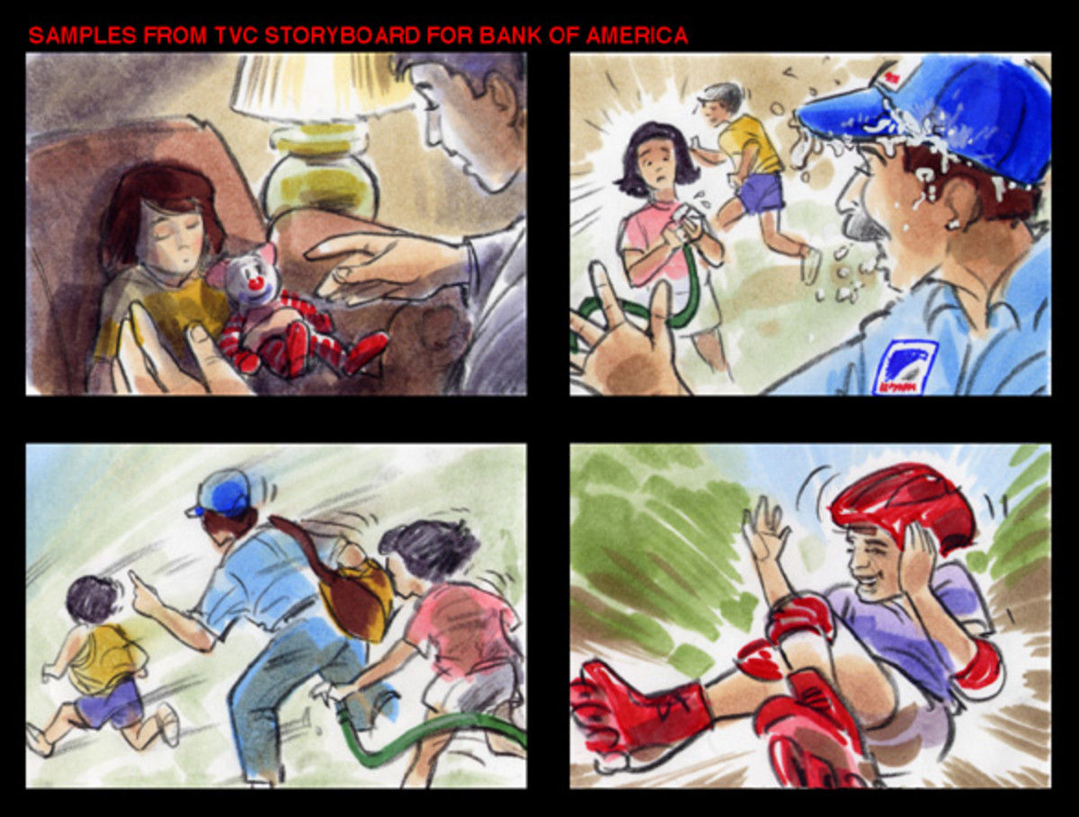 Great storyboard artists are able to communicate action and emotion in their work.