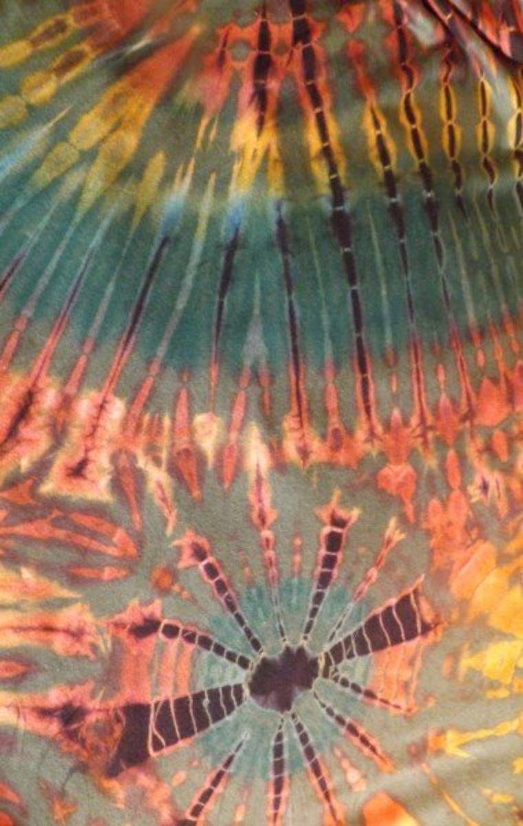 Multi-Colored Tie Dye