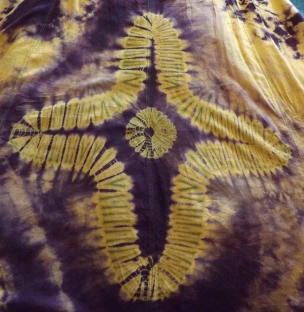 Tie-Dye Cross