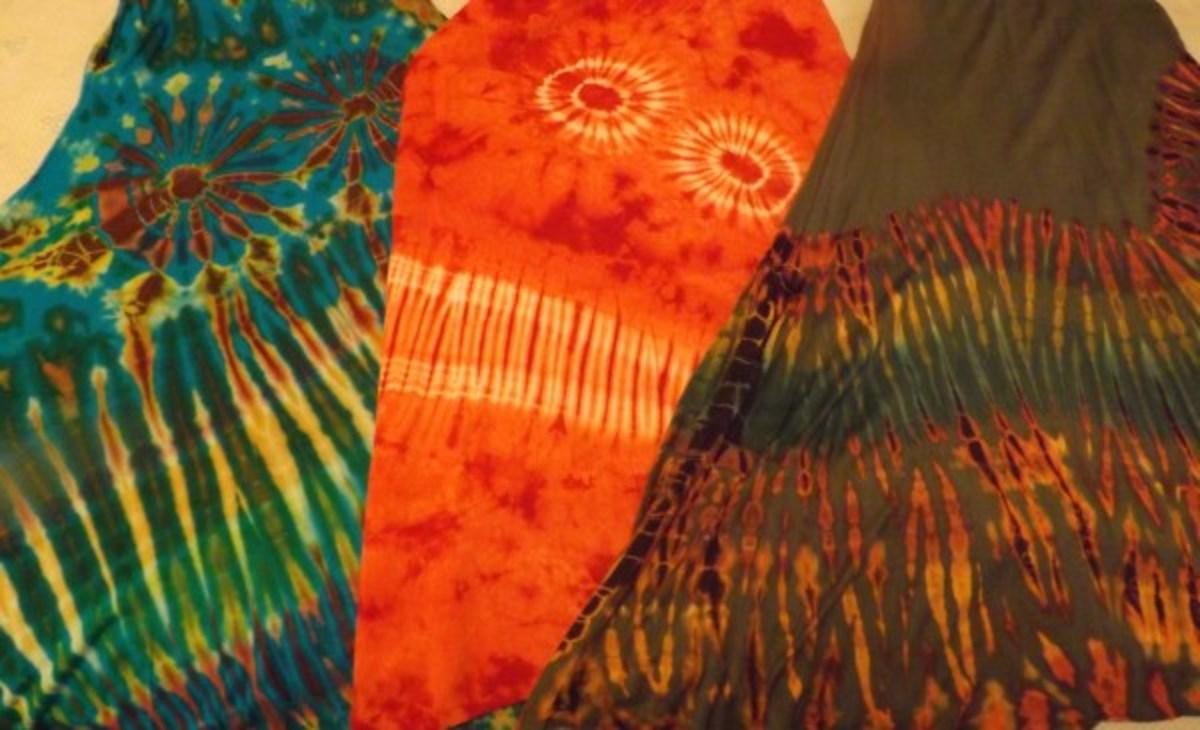 Tie-Dye Dresses
