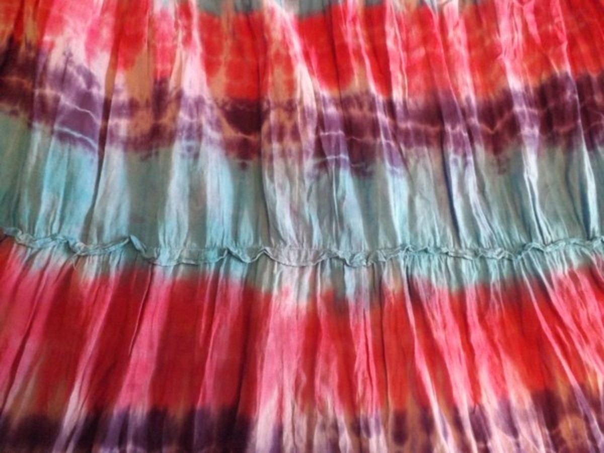 How to Tie-Dye on the Cheap | FeltMagnet
