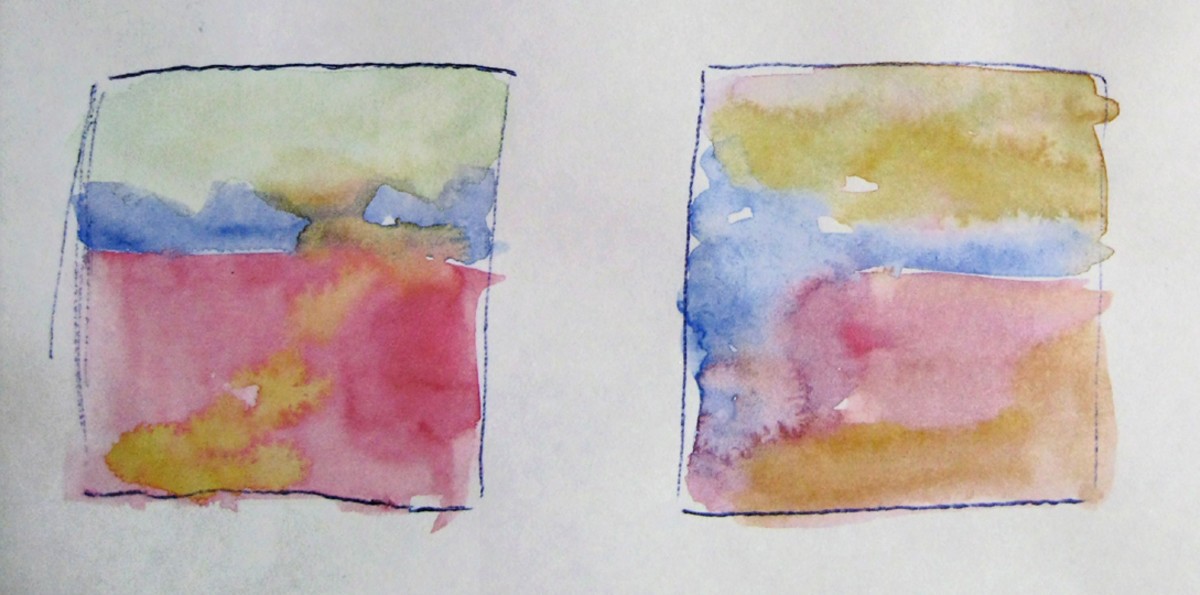 Watercolor thumbnails