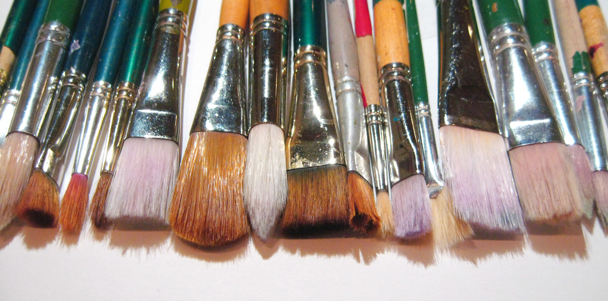 Tips For Cleaning Acrylic Paint Brushes Feltmagnet Crafts
