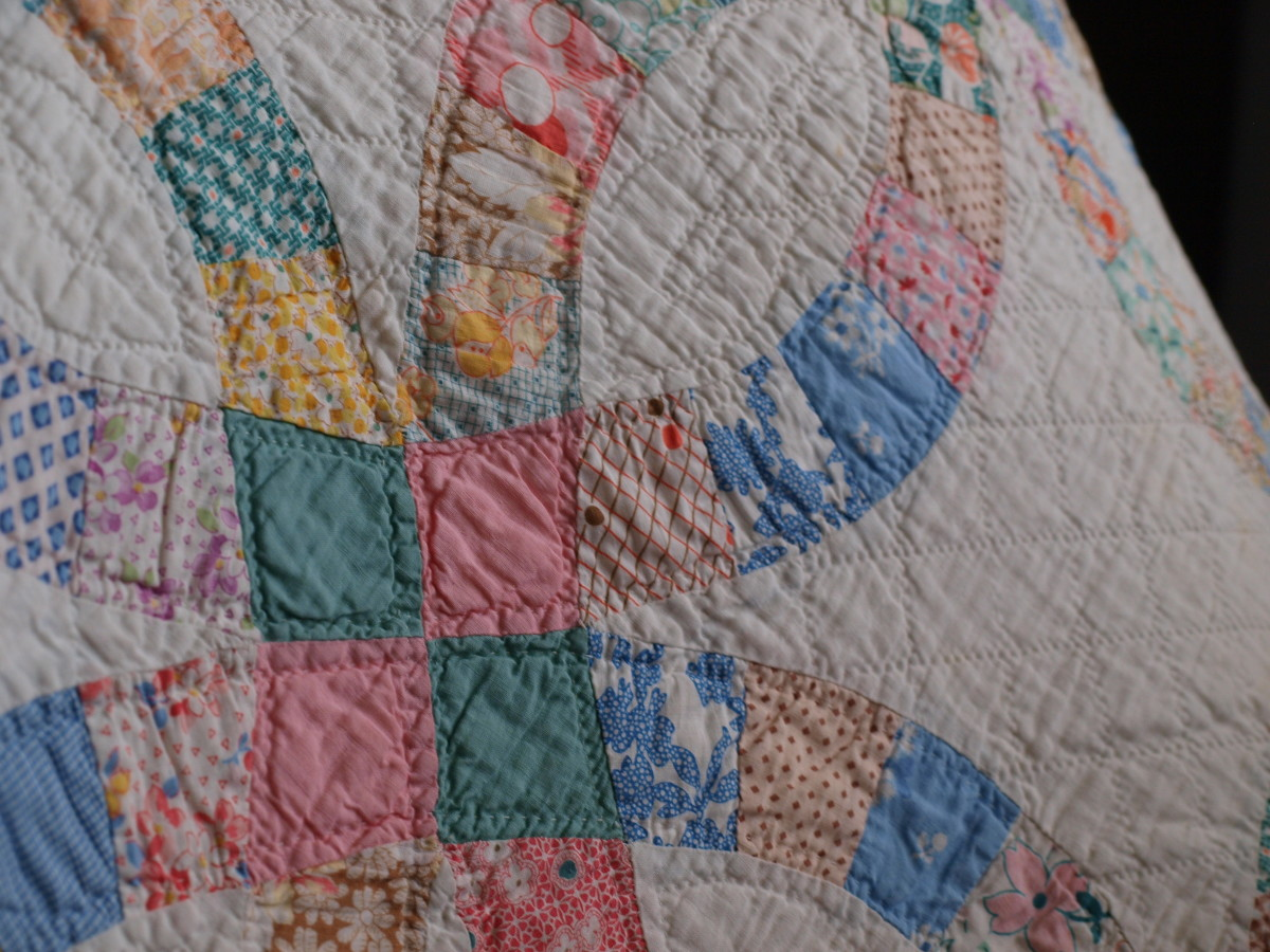 Show off quilts, both old and new, during show and tell time.