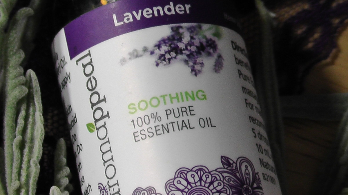 Essential lavender oil can be used to revive old lavender wands.