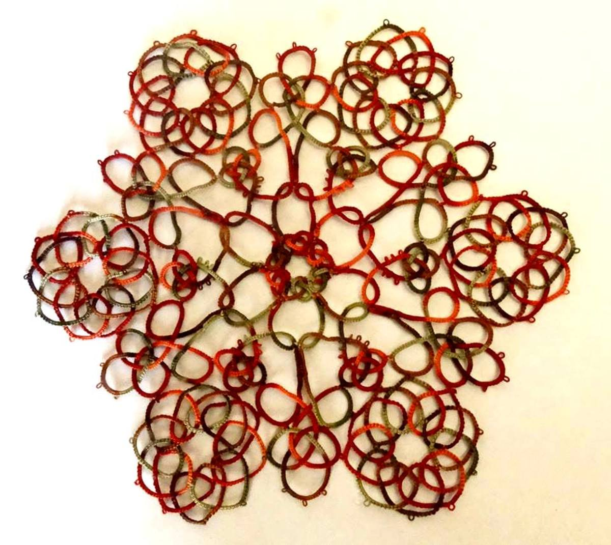 A beautiful Celtic doily.