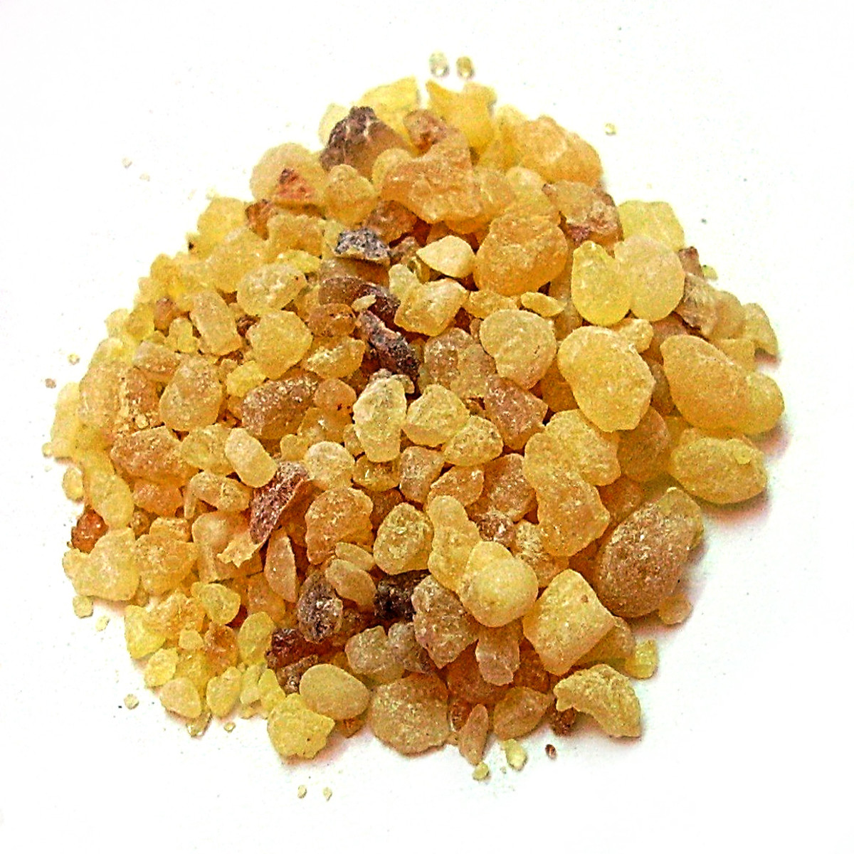 Frankincense - A common ingredient in loose incense.