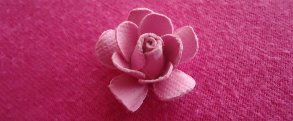 Now, fold each of the petals upward.
