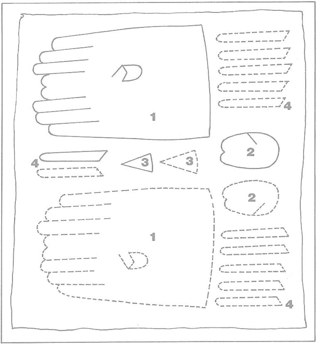 Figure 2: Pattern Layout