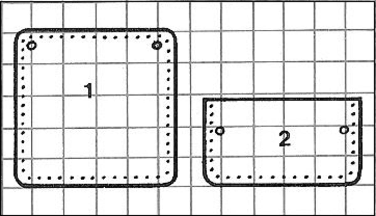 Figure 3: Each Square = 1 Inch