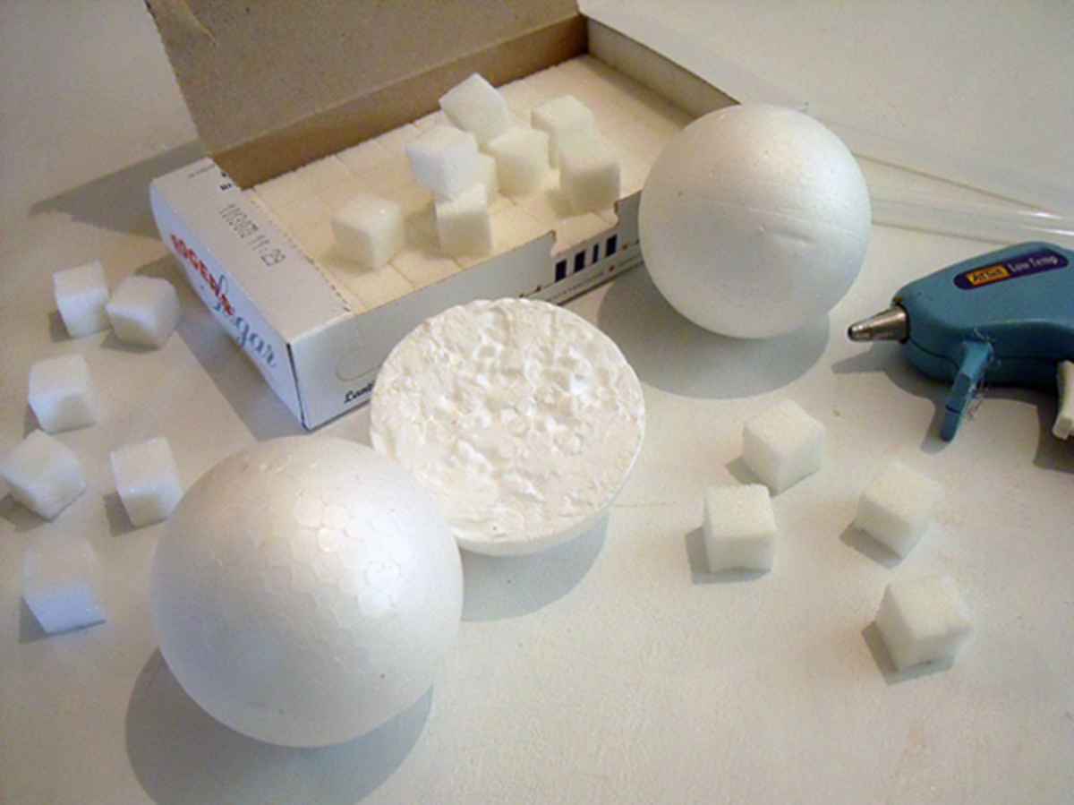 Sugar Cube Igloo Supplies
