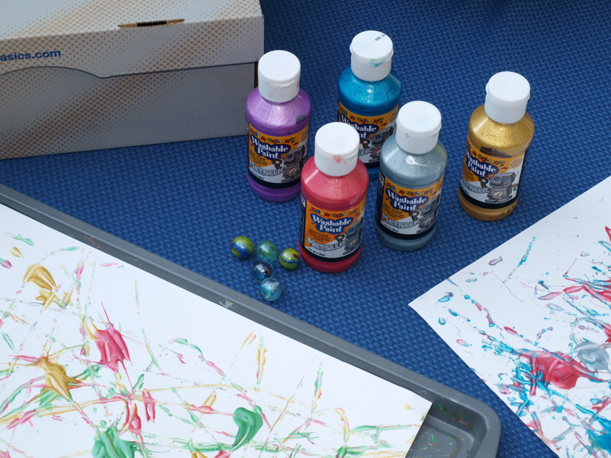 Marble Painting Supplies