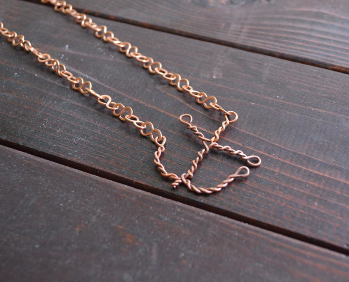 Anchor necklace.