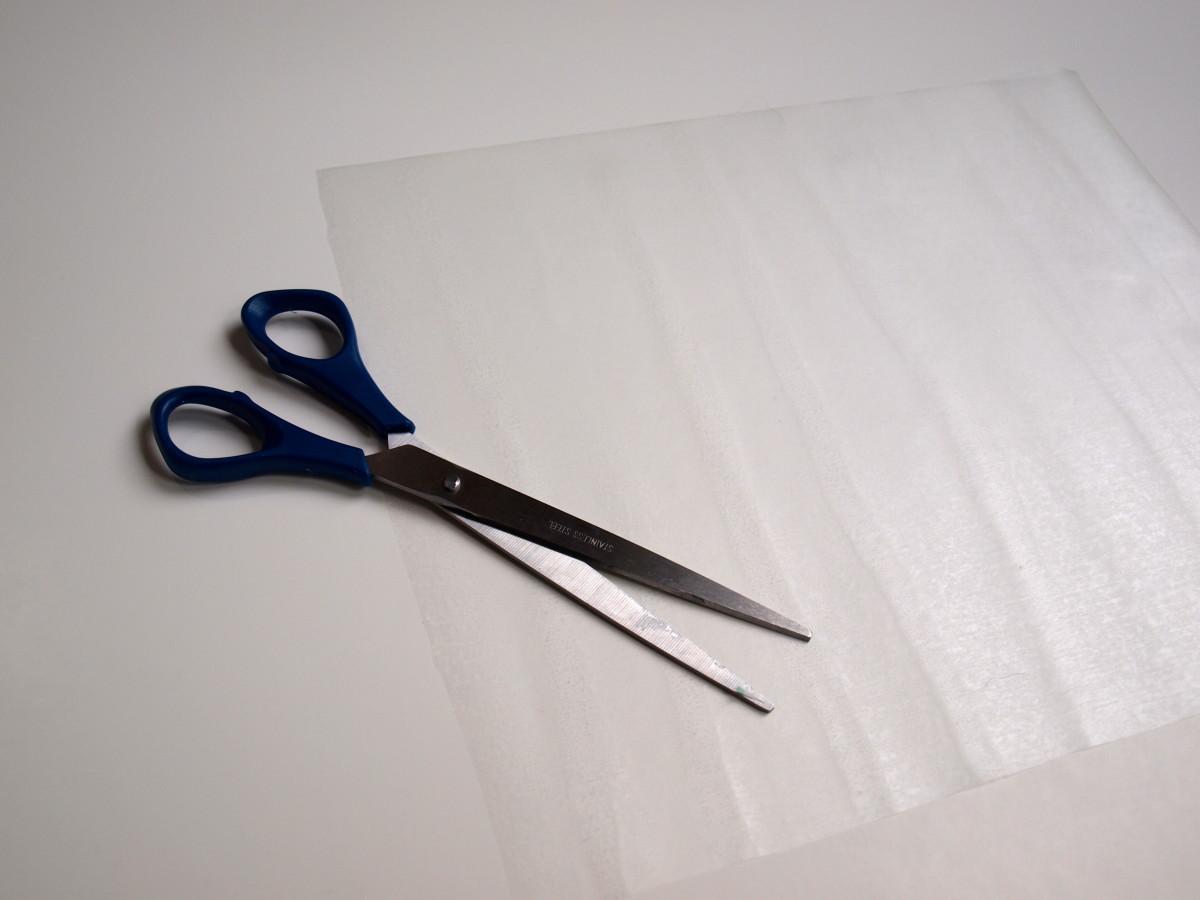 Prepare the contact paper.