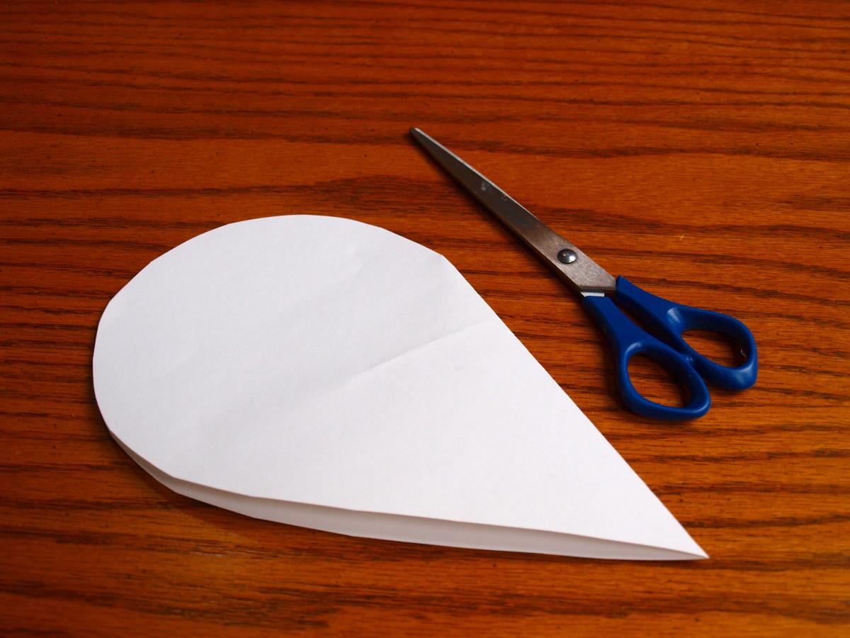 Cut out a shape.