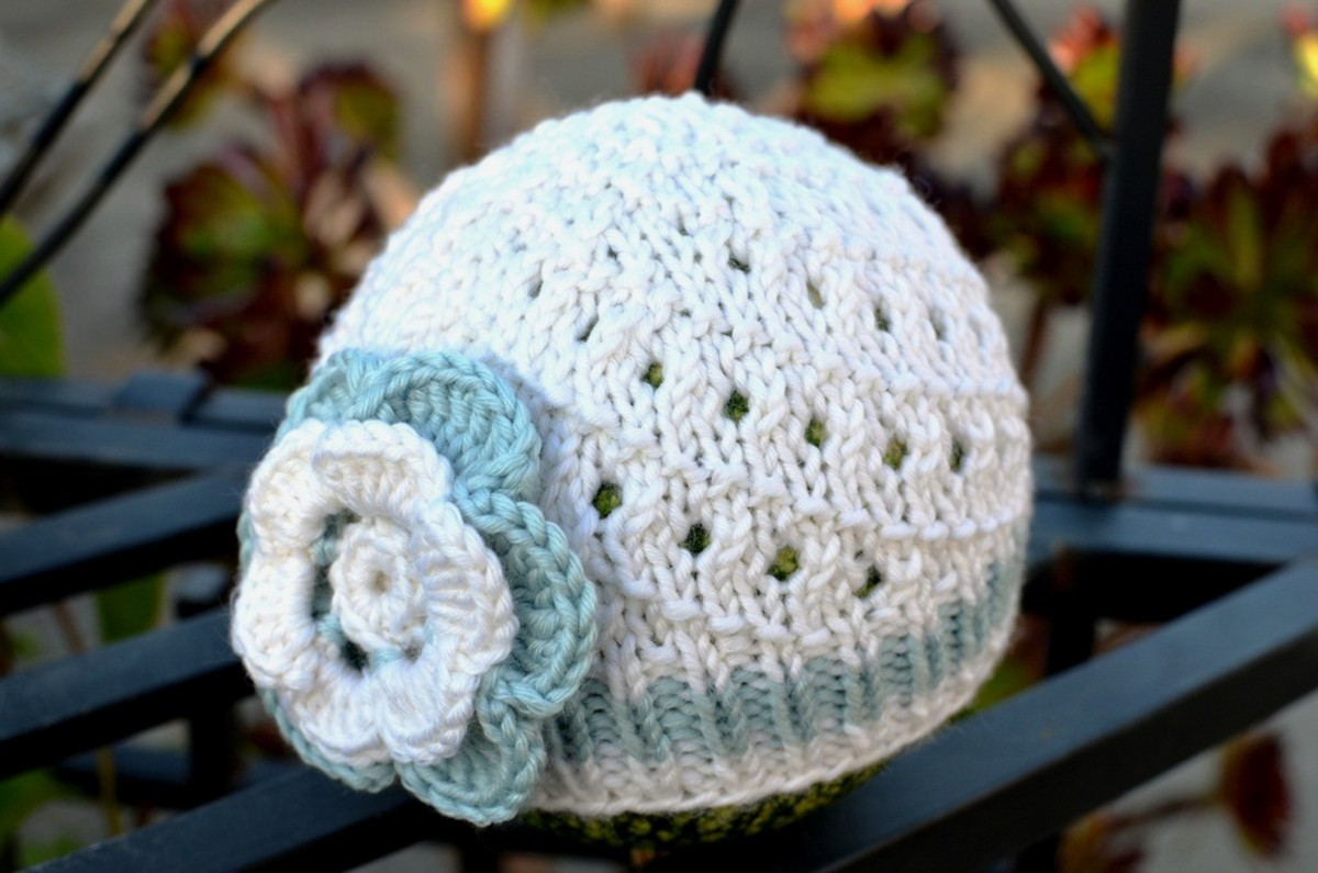 How To Knit A Basic Baby Hat Free And Easy Pattern With Step By