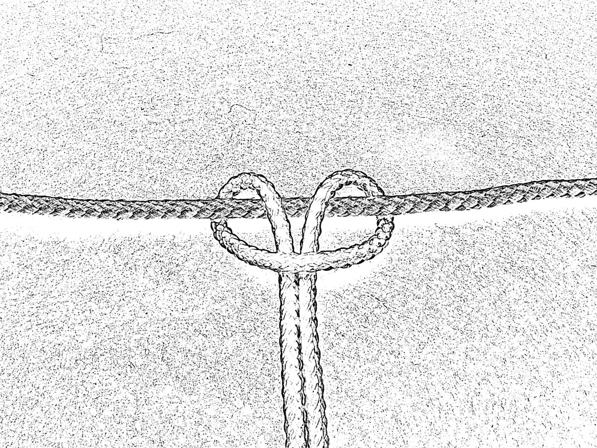 A larks head knot