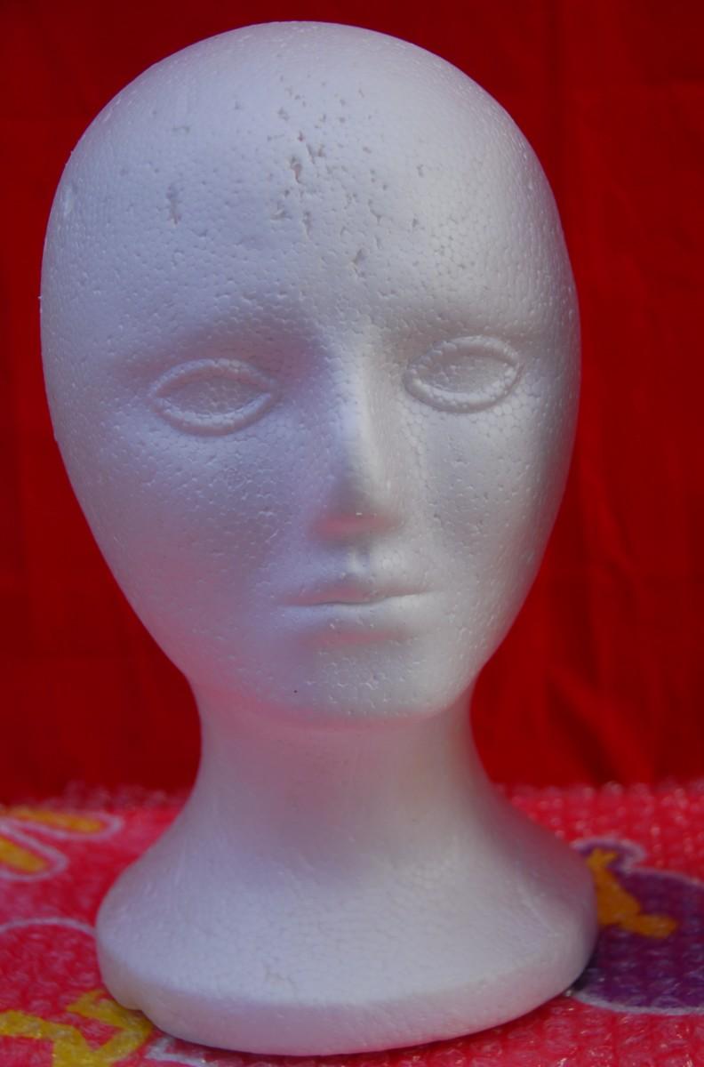 A Polystyrene Head