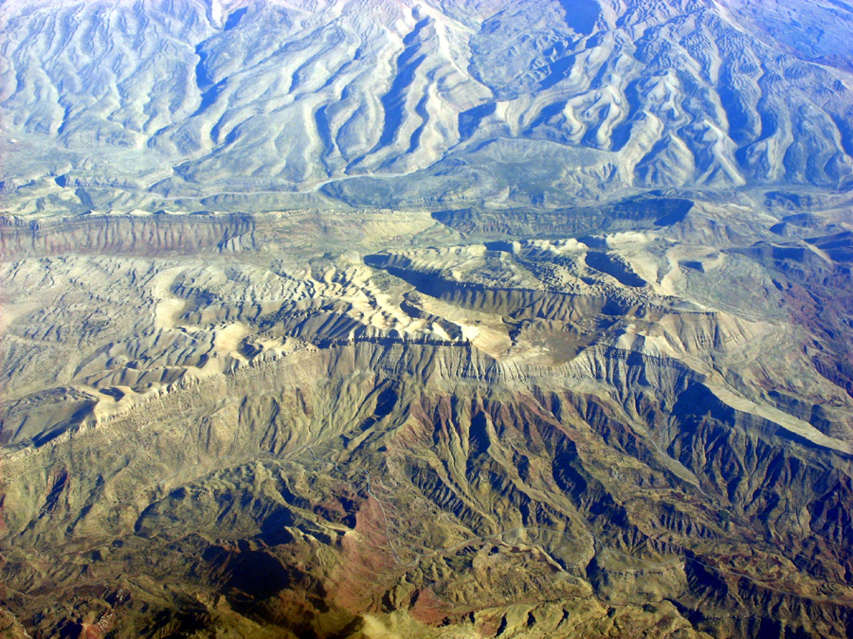 Mountains in Iran