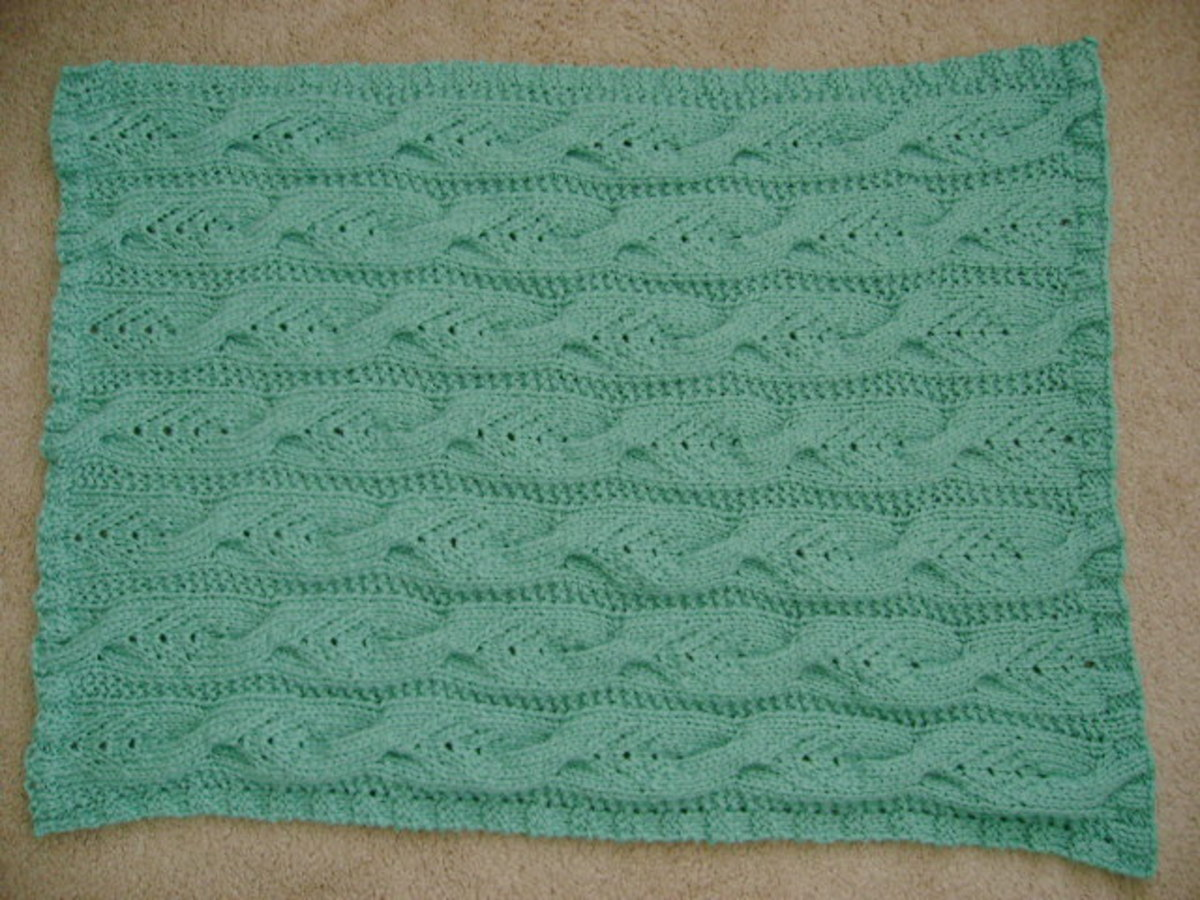 Finished size is 22 inches wide x 30 inches long