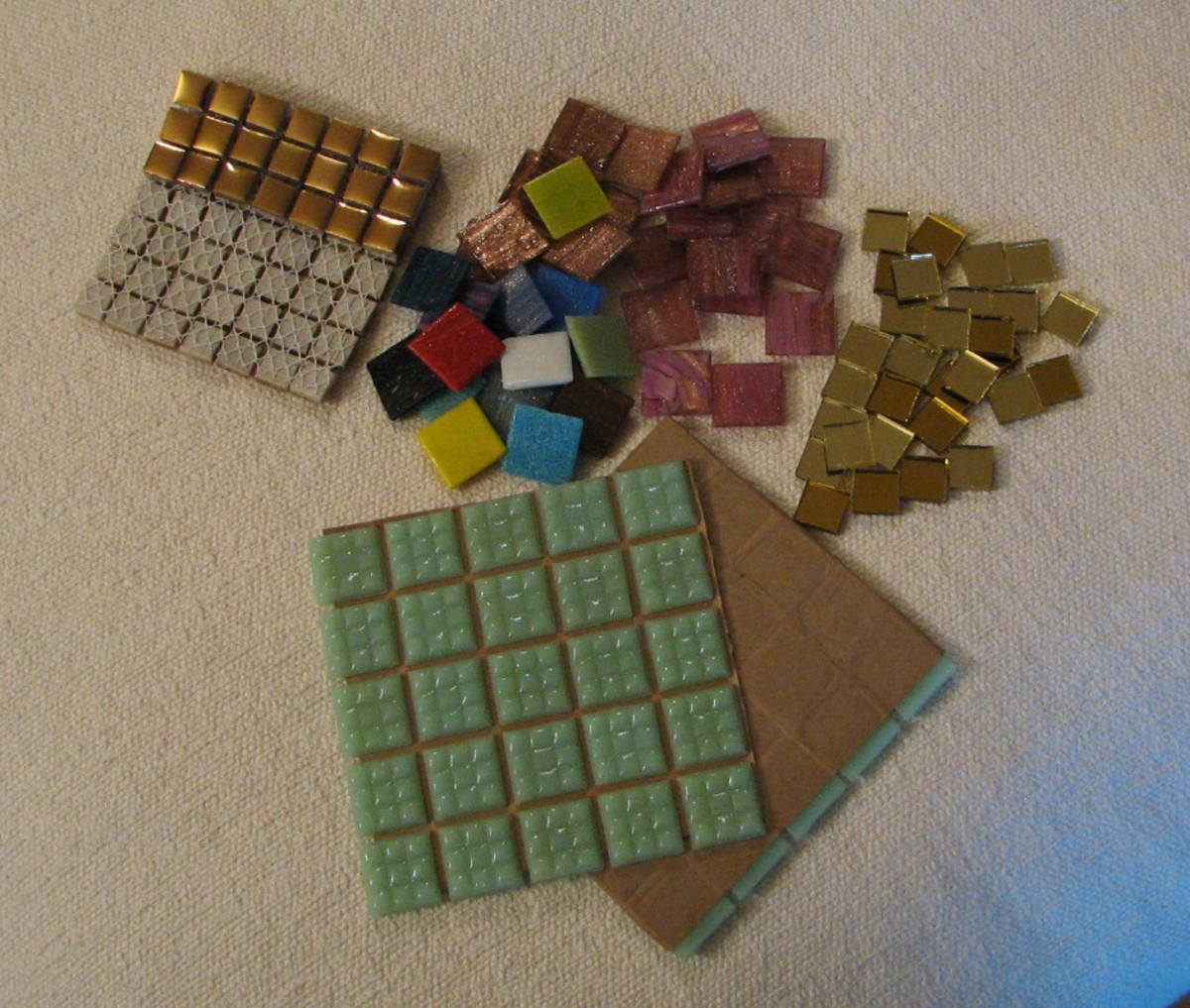 vitreous glass tile, ceramic tile, mirror tile