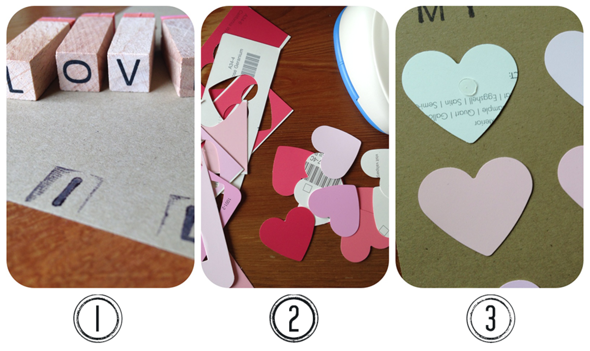 Valentine Paper Crafts - How to Make Homemade Cards