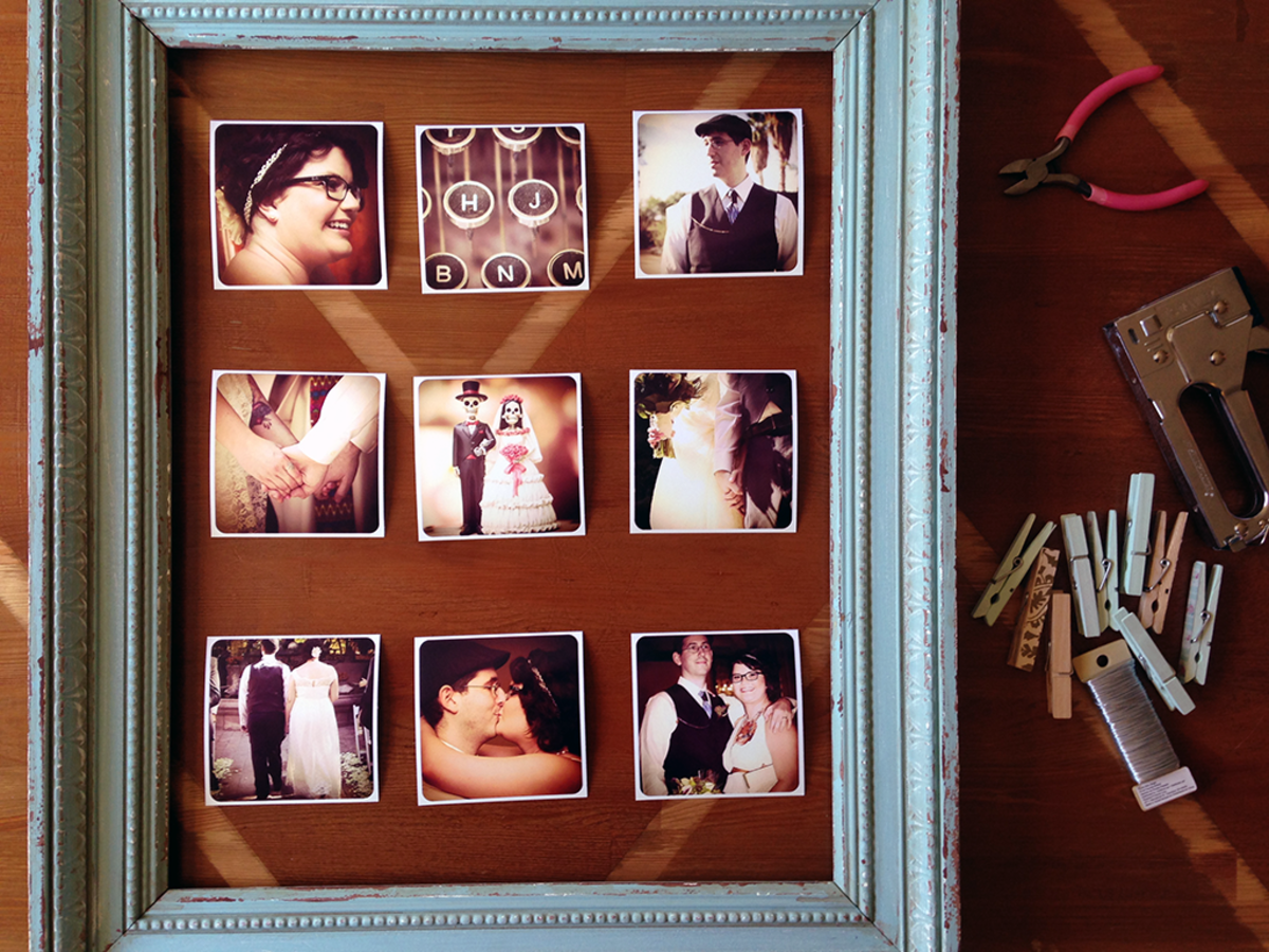 Instagram Wedding Photo Prints