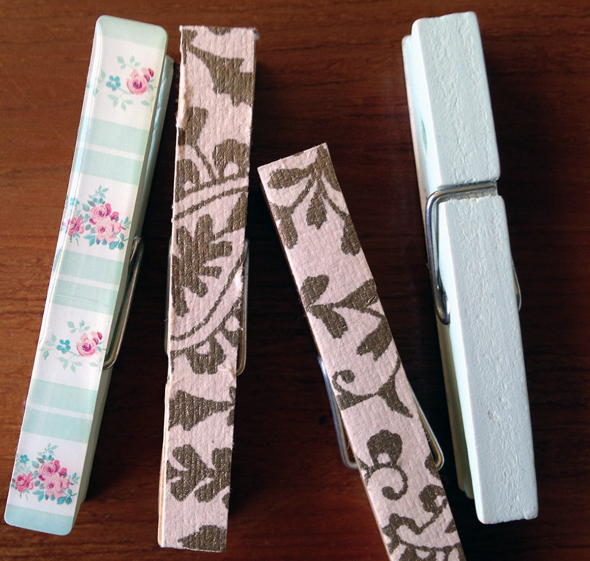 Snazzy Clothespin Crafts