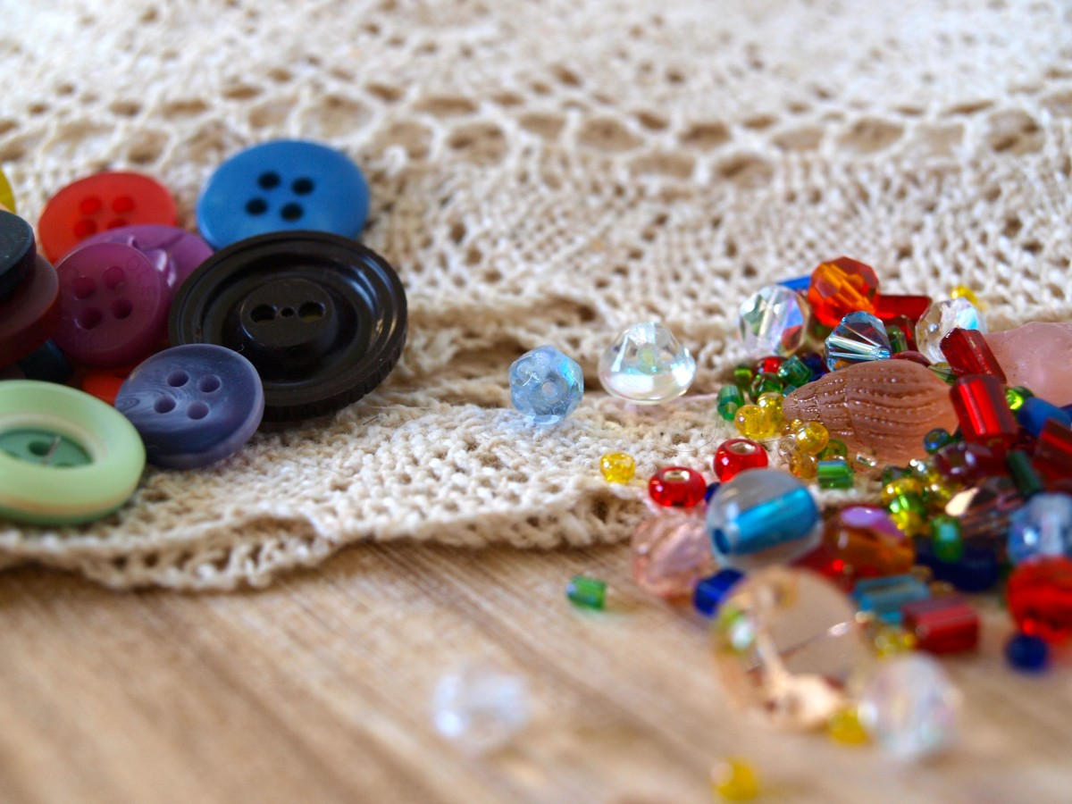 The beads may not be diamonds, but these fun embellishments will add sparkle to any craft project.