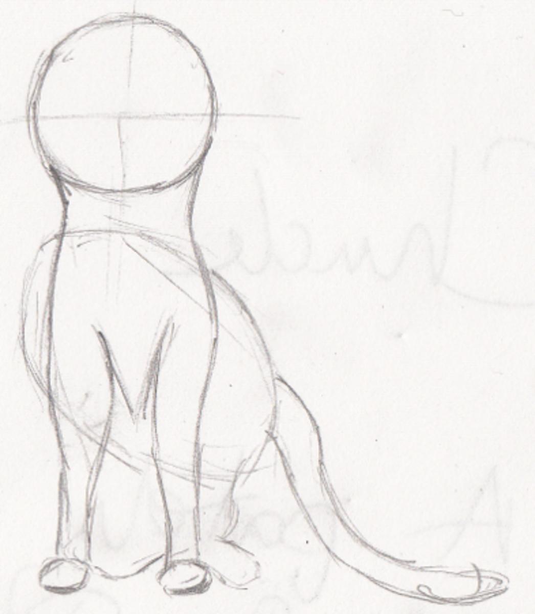 Simple Shapes Cat