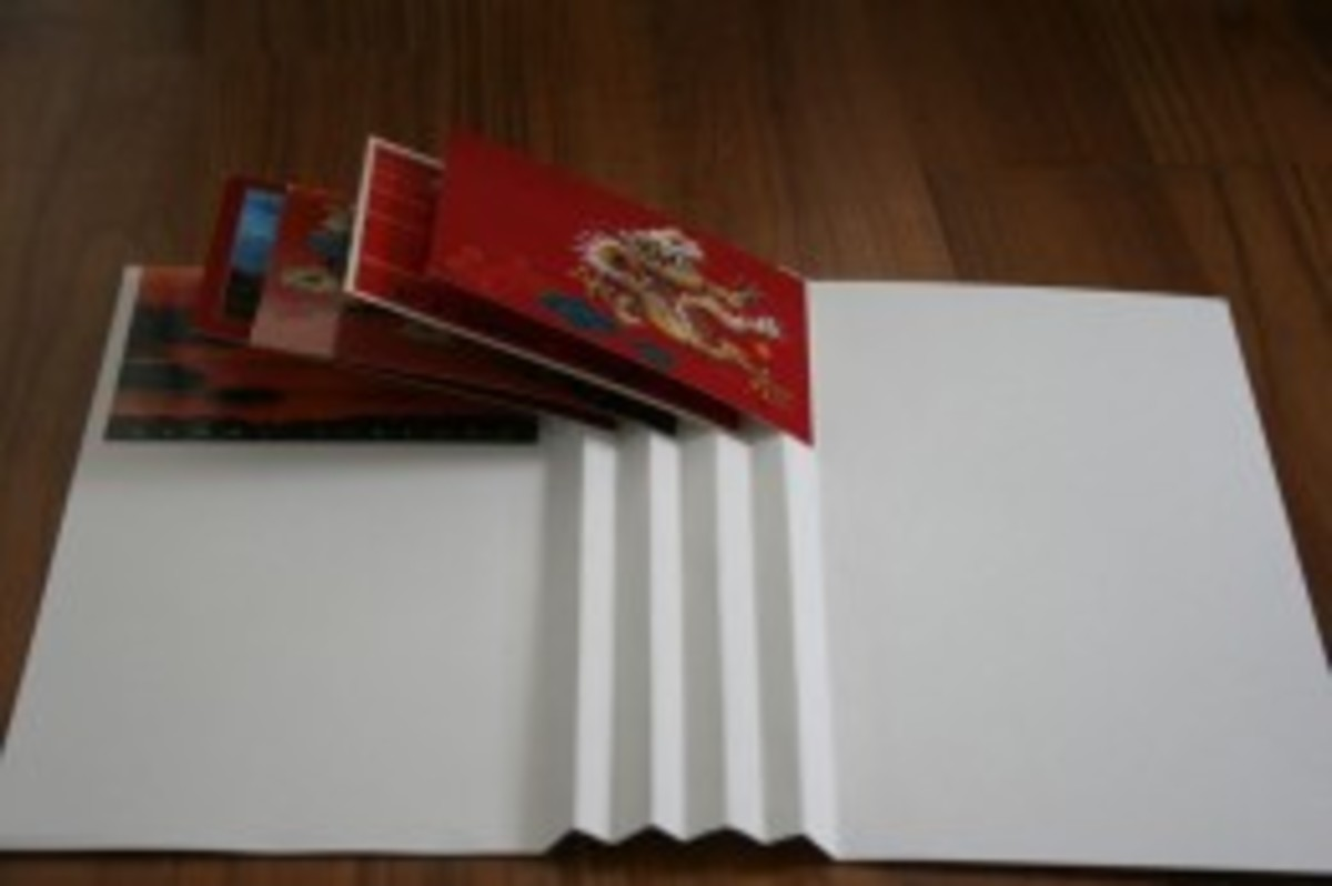 how-to-make-a-fan-fold-display-book