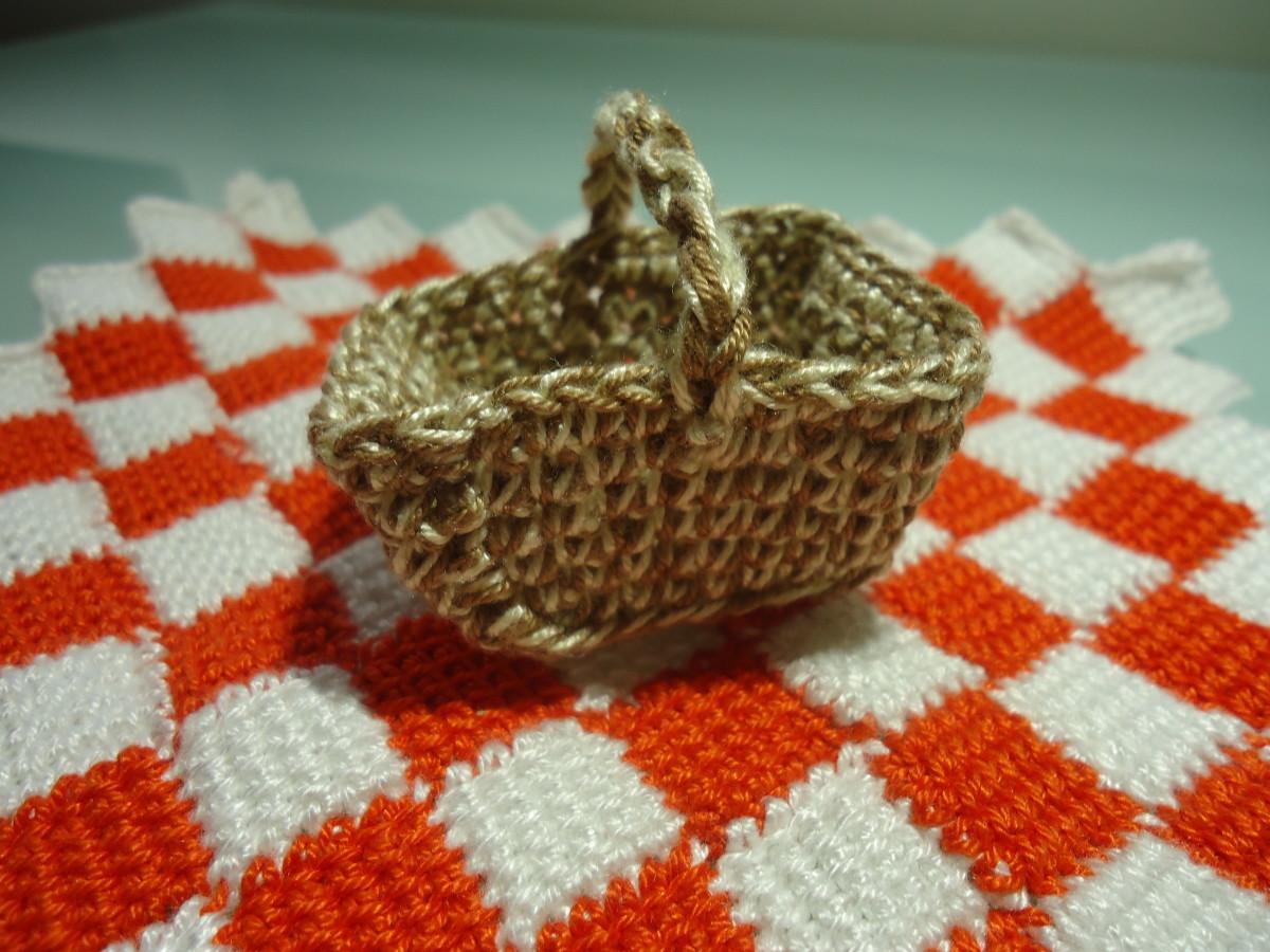 Closer View of Picnic Basket