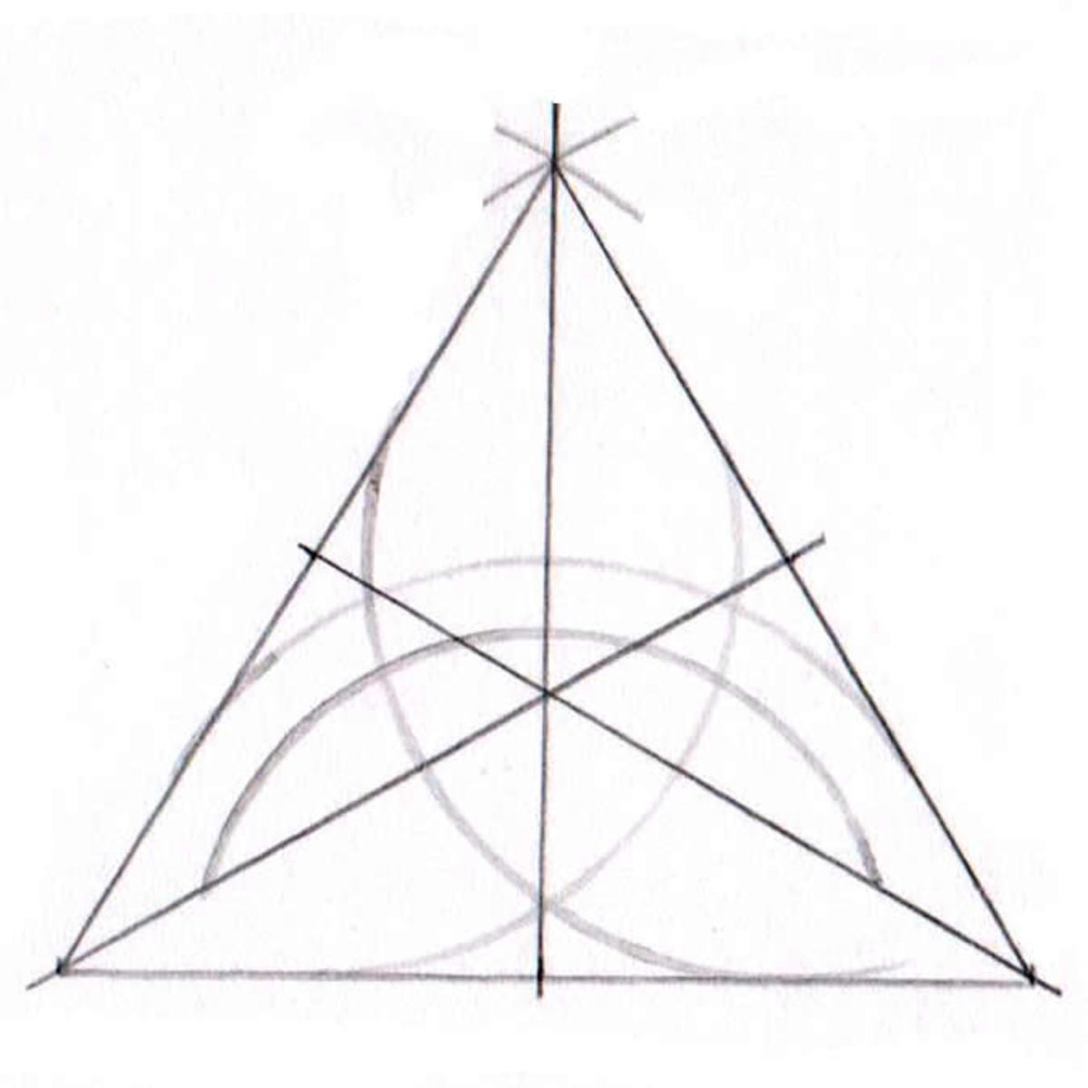 Triquetra tutorial step seven