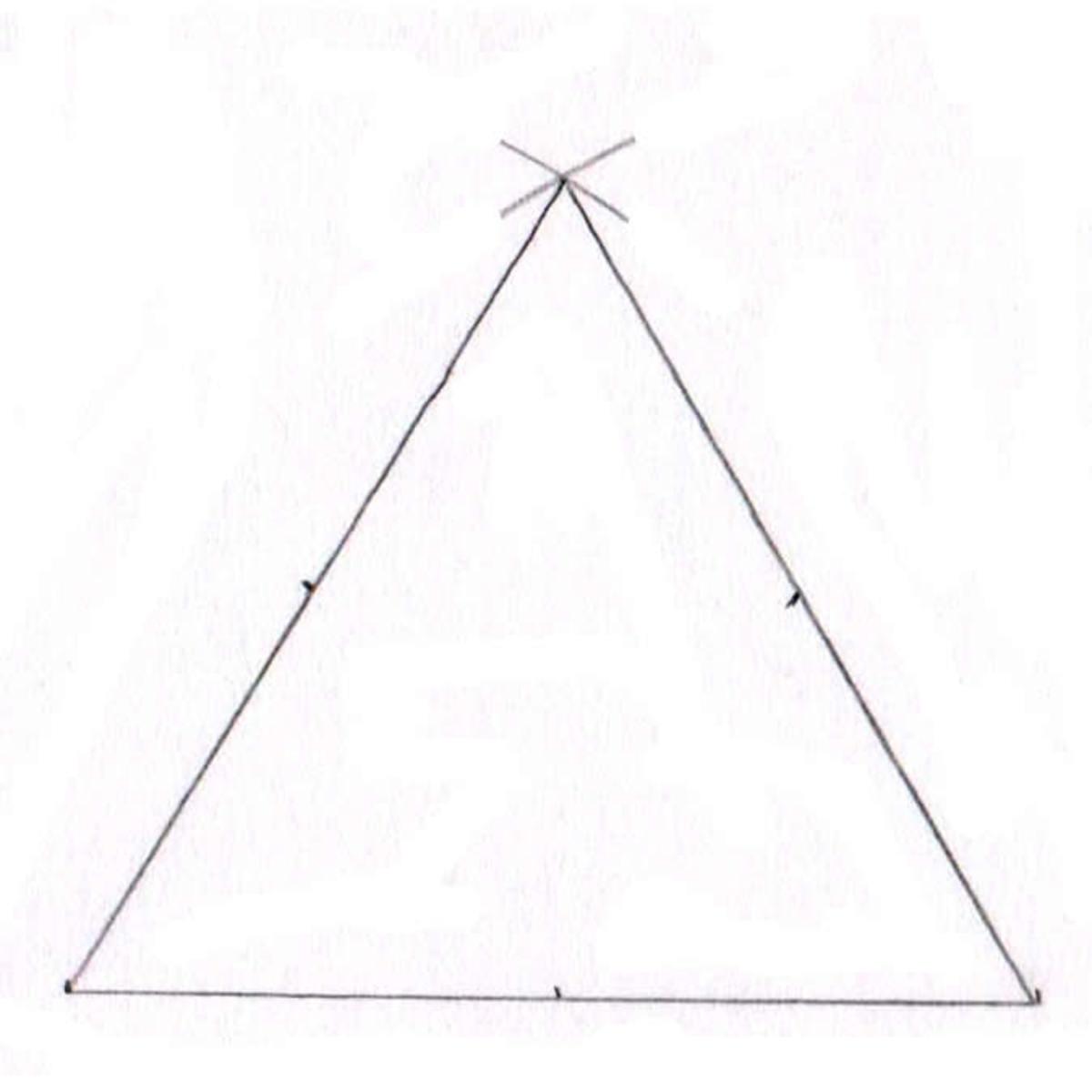 Triquetra tutorial step three